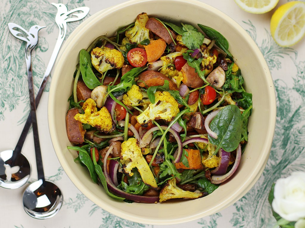 Curried cauliflower salad 3