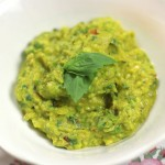 Fresh and zesty guacamole