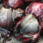 Foiled onions